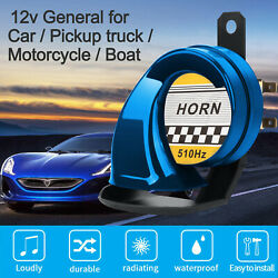 Car Horn Snail Electric Air Horn Super Loud For Car Motorcycle Truck Boat 12V