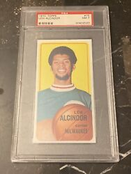 1970 Topps Lew Alcindor 75 Psa 7 Nm Investment Card 2nd Year Basketball 🔥