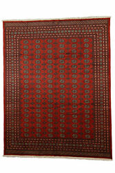 Genuine 9and0393and039 X 11and0398and039 Fine Pak Bukhara Area Rug Carpet