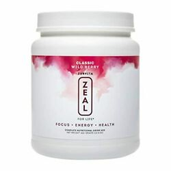 Zurvita Zeal For Life 30-day Wellness Canister 420 Grams Wild Berry Classic