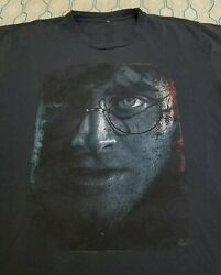 Vintage Harry Potter And The Deathly Hallows Part 2 Movie Promo T Shirt Medium