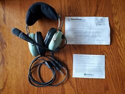 David Clark H10-13s Pilot Headset Stereo With Case