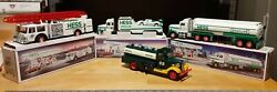 Hess Toy Trucks Lot Of 4 1988 1989 1990 The First Hess Truck No Box