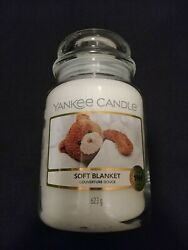 1 quot;NEWquot; Yankee Candle Soft Blanket Classic Large Jar 22oz