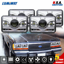 Dot Approved 120w 4x6 Cree Led Headlights For Jeep Chevrolet Gmc Ford Kenworth