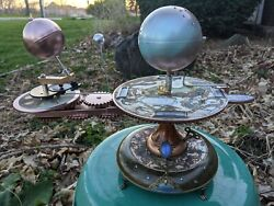 Sale Here There Be Dragons Orbiter Planetarium Orrery Solar System Model