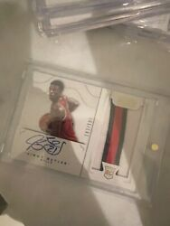 2012-13 Panini National Treasures 127 Jimmy Butler Rookie Patch Auto Rpa Rc