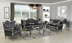 New Classic Marguerite Sofa And Loveseat Furniture Living Room Set