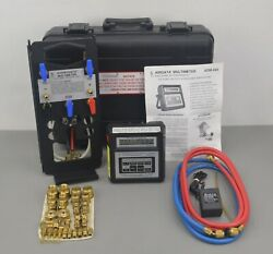 Shortridge Hdm-300 Hydrodata Multimeter Electronic Pressure Gage W/ Case And Accs