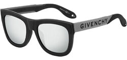 Givenchy Matte Black Oversize Soft Square Sunglasses GV7016NS 0BSC T4 Italy