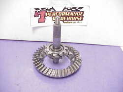 Xtrac 9 Ford 3.64 Superlite Polished And Cnc Backcut Ring And Pinion Nascar Jw364