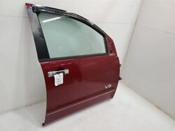2004-07 Nissan Armada Passenger Right Front Rh Door Electric Red