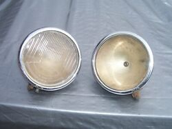Vintage 1930 Plymouth Head Lights