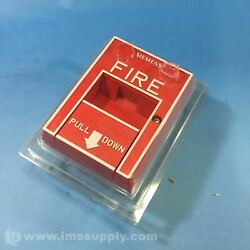 Siemens 500-893080 Manual Fire Alarm Pull Station Fnfp