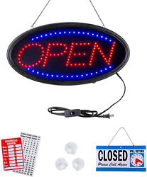Neon Open Sign By Smart Solutions Northwest. For Business 19x10 Inch Led Sign