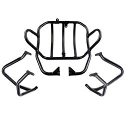 Engine Crash Bars Radiator Grille Protector Guard Bumper For Bmw F650gs G650gs