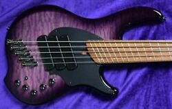 Dingwall Combustion 5-string, Ultra Violet / Pau Ferro / 3 Pickups Factory Co
