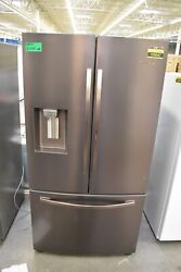 Samsung Rf28r6301dt 36 Tuscan Stainless French Door Refrigerator Nob 109047