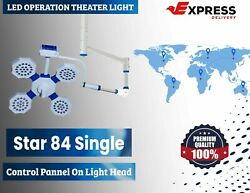Surgical Uv And Ir Rays Protects Lights Operation Theater Led Light Star 84 Lamp