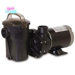 Hayward 1 Hp Above Ground Pool Pump Single Speed With See-through Strainer New