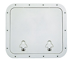 Marine Boat Hatch Outer 510x460mm 393x446mm Grey