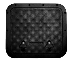Marine Boat Hatch Outer 510x460mm Cut Out 393x446mm Black