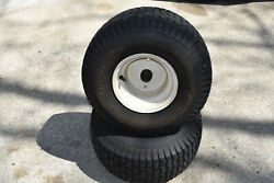 Oem Craftsman Lt2000 Lawn Tractor - Rear Tires And Rims 20x8.00-8 Turf Saver