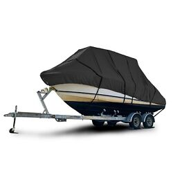 Century 2001 Sv Center Console Fishing T-top Hard-top Storage Boat Cover Black