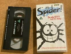 Spider.iand039m Only Scary Cos Iand039m Hairy.classic Bbc Animated Cartoon Vhs Video