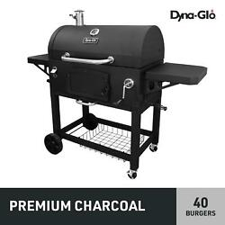 Charcoal Grill Bbq Barbecue Pit X-large Heavy-duty Outdoor Cooking Wheels Black