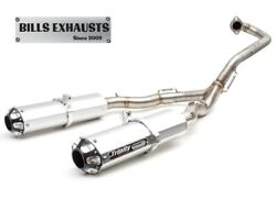 Trinity Racing Brushed Dual Full System Exhaust Pipe Yamaha Raptor 700 15-21