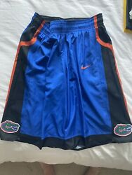 Florida Gators Nike Authentic College Basketball Game Worn Shorts Team Issued