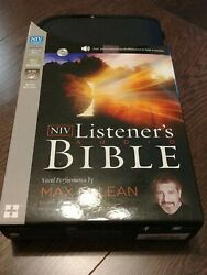 The Niv Listener's Audio Bible Vocal Performance By Max Mclean