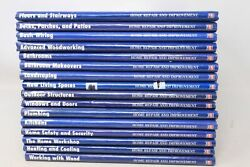Lot Of 16 Home Repair And Improvement Time-life Books - Hc