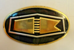 50s Wheaties Cereal Promo Giveaway Kaiser License Plate Topper Car Badge Germany