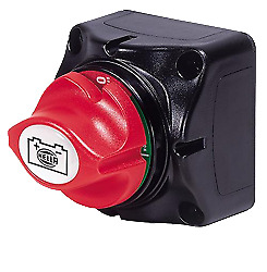 Marine Boat Hella Battery Switches 1-2-both-off 350a Continuous