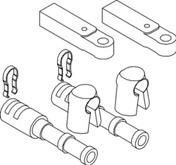Marine Boat Allpa Connection Kit For Mercury Outboards And Sterndrives