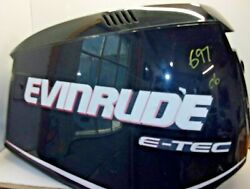 Evinrude Etec Engine Cover Cowling 0285654 And03906 Up 225-250hp