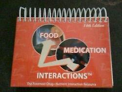 Food-medication Interactions By Zaneta M. Pronsky Excellent Condition