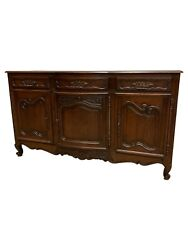 Traditional Antique French Provincial Server/sideboard/buffet, 1920's, Oak