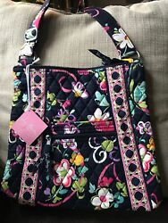 Vera Bradley Large Hipster Ribbons New With Tags, Crossbody, Exact Bag