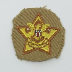 Boy Scout Type 4 Star Very Rare 1915-17 1-5