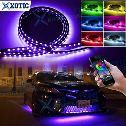 Multi Function Rgb App Control Led Under Glow Neon Light Kit For Toyota Camry 86