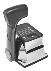 Marine Boat Action Twin Top Mount Control Outboard Out Trim Chrome Nm1002-00