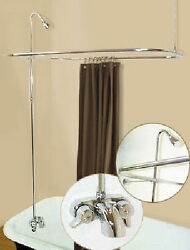 Add A Shower Converter Kit For Clawfoot Tub With Diverter Faucet R2200a