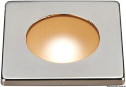 Polis Reduced Recess Fit Led Ceiling Light White And Red