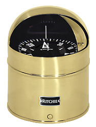 Boat Ritchie Compass Globemaster D-615-eb 12 24 32v Binnacle Mount 1524 Black