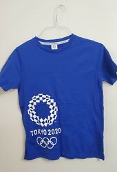 Tokyo 2020 Olympics Official Licensed Jersey Navy Blue Size M. Never Happened