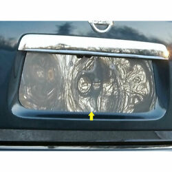 Stainless License Plate Bezel Fit For 2013-2020 Nissan Pathfinder - Luxfx2071
