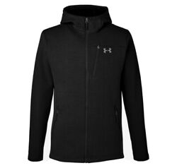 Under Armour Menand039s Seeker Hooded Jacket Black Size 3xl Free Shipping